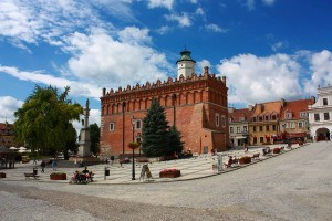 Old Town in Sandomierz, Poland