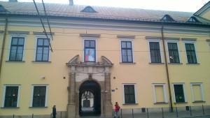 Kraków okno